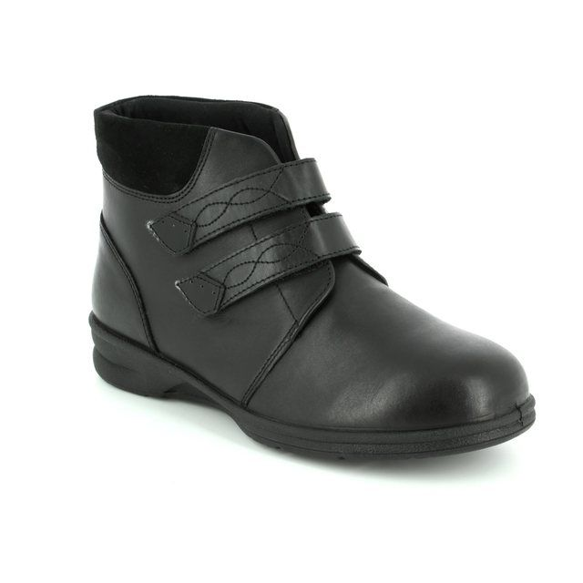 Padders Ankle Boots - Black - 0361/38 KATHY 4E-6E FIT