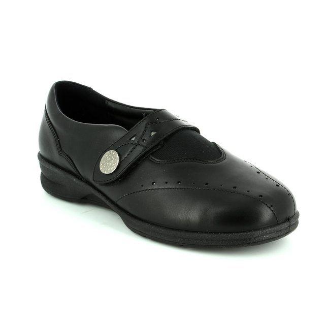 Padders Comfort Shoes - Black - 0359/10 KIRSTEN 2 4E-6E FIT