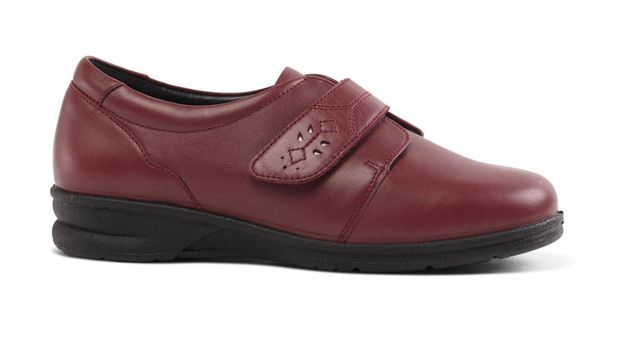 Padders Comfort Shoes - Red - 360-42 KARLA  4E/6E