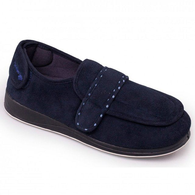 Padders L Enfold 2E Fit 427-24 Navy slippers