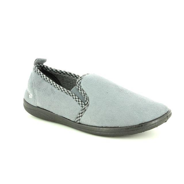 Padders Slippers - Grey - 0470/99 LEWIS  G FIT