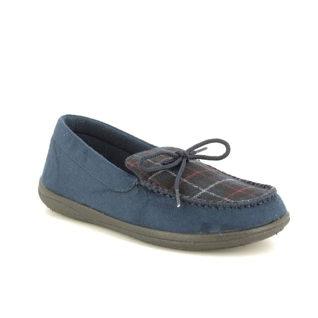 Padders Slippers - Navy Mmulti - 0432/96 LOUNGE G FIT