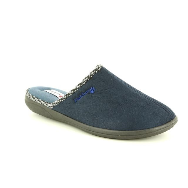 Padders Mules - Navy - 0471/24 LUKE   G FIT