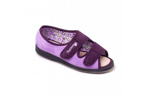 Padders Lydia 2E Fit 414-78 Purple slippers