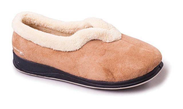 Padders Slippers - Tan - 417-22 CARMEN