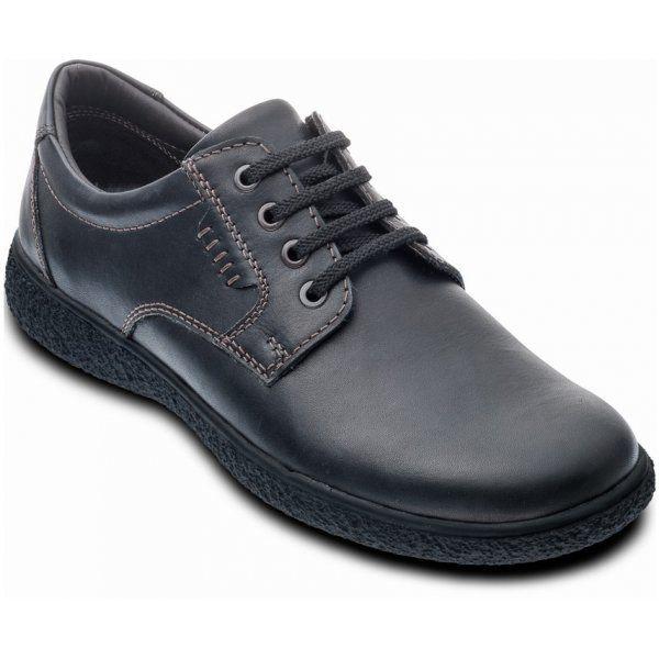 Padders Matt P126-10 Black casual shoes