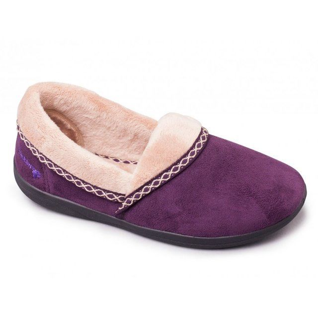 Padders Mellow 460-95 Purple slippers