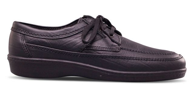Padders Casual Shoes - Black - 607-10 GRIFF
