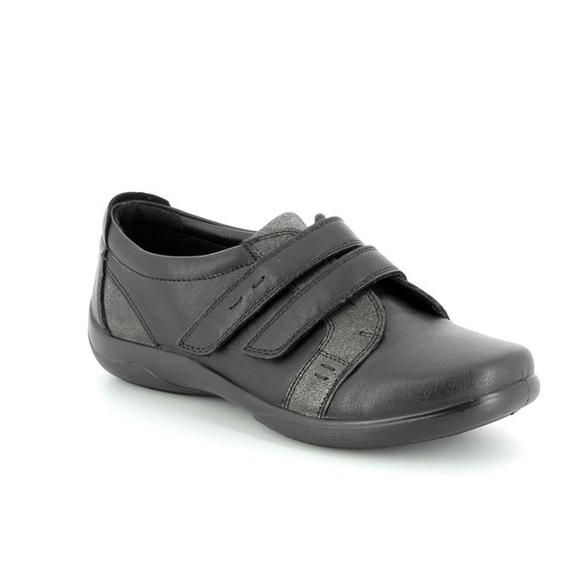 Padders Comfort Shoes - Black - 0877/10 PIANO  2E-3E