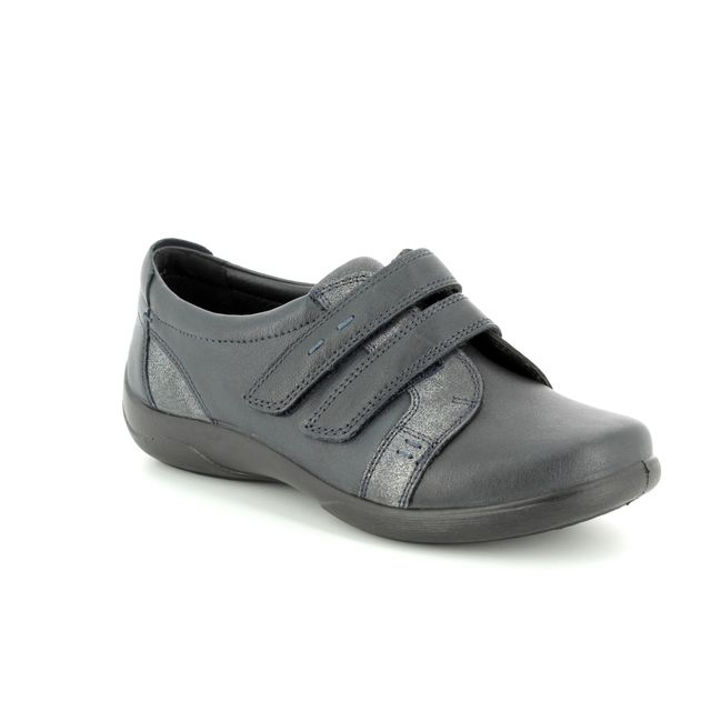 Padders Comfort Shoes - Navy - 0877/24 PIANO  2E-3E