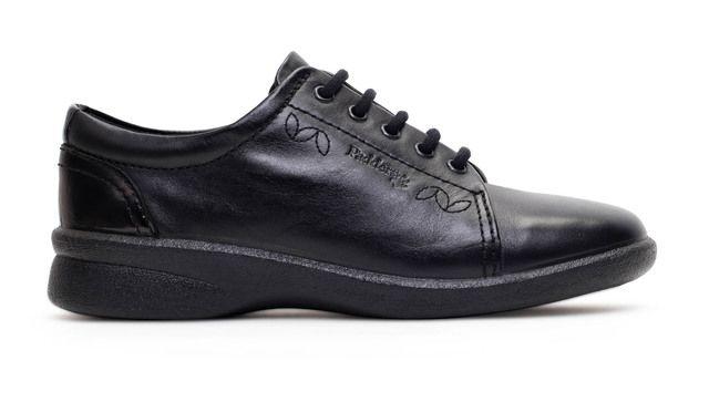 Padders Comfort Shoes - Black - 638-38 REFRESH 2
