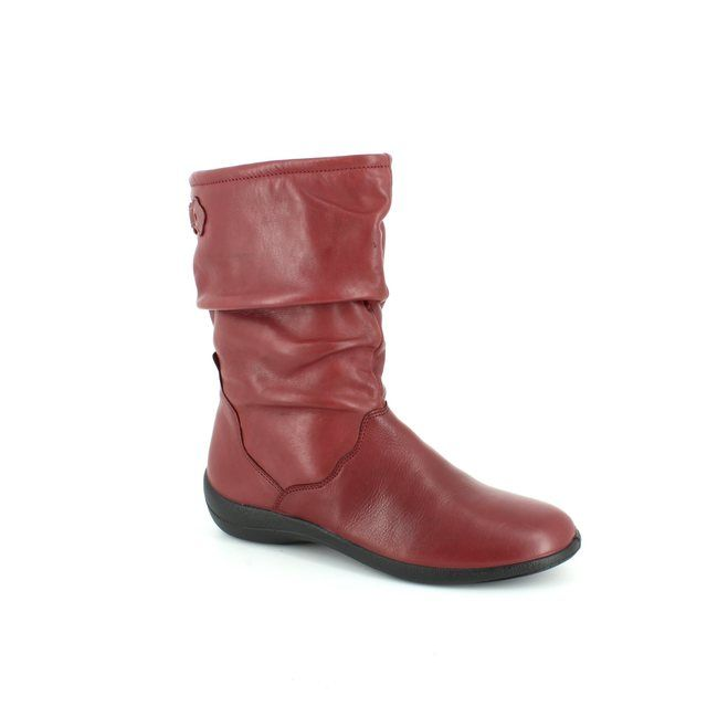 Padders Regan E Fit H207-12 Wine ankle boots