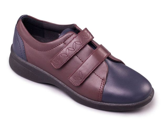 Padders Comfort Shoes - Navy - wine - 639-27 REVIVE 2