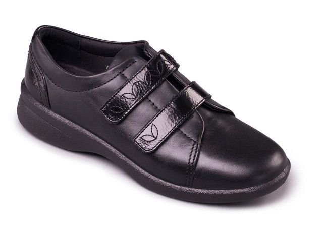 Padders Comfort Shoes - Black - 639-38 REVIVE 2