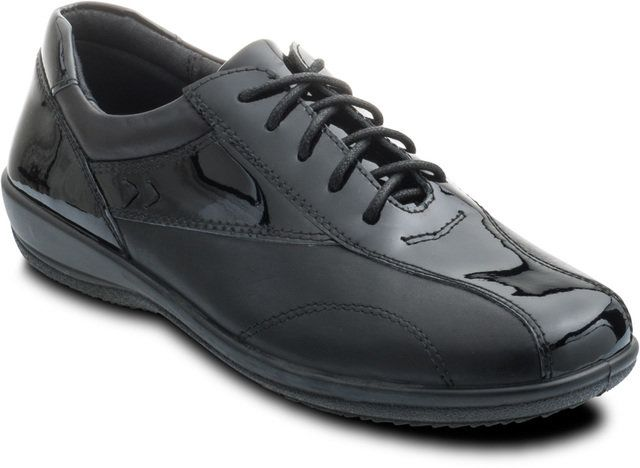 Padders Rhythm 652-70 Navy lacing shoes