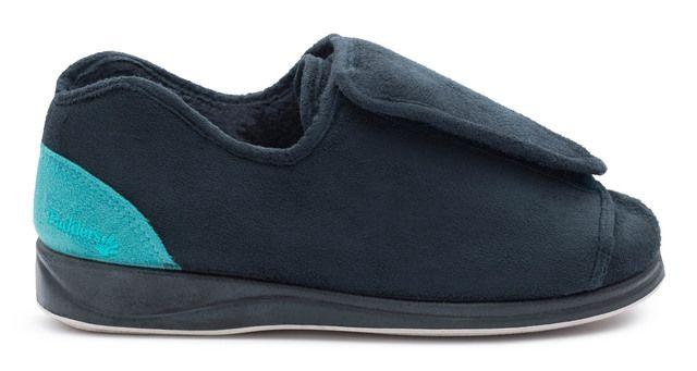 Padders Slippers - Blue - 498-96 PAULA 4E-5E