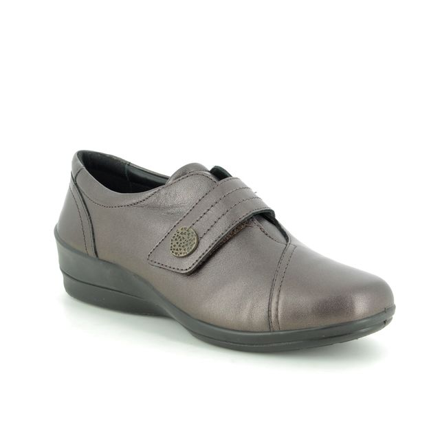 Padders Comfort Slip On Shoes - Metallic - 0252-19 SIMONE 3 E-EE