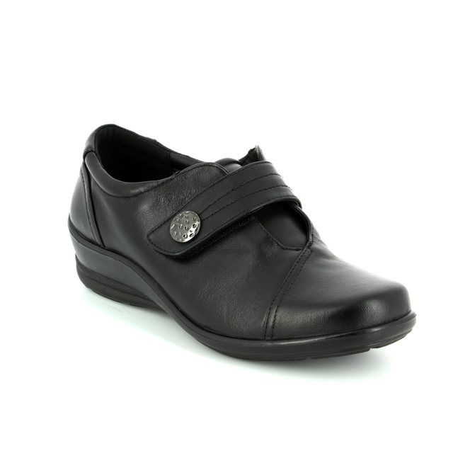 Padders Comfort Shoes - Black - 0200/10 SIMONE E-2E FIT