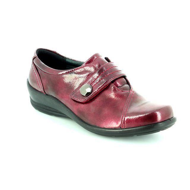 Padders Comfort Shoes - Wine patent - 0200/12 SIMONE E-2E FIT