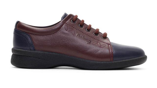 Padders Comfort Shoes - Navy - wine - 638-27 REFRESH 2