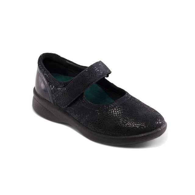 Padders Comfort Shoes - Navy - 633-96 SPRITE 2