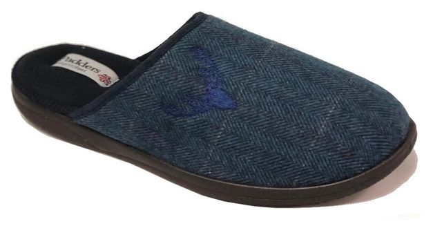 Padders Slippers - Navy Mmulti - 0490-96 STAG   G FIT