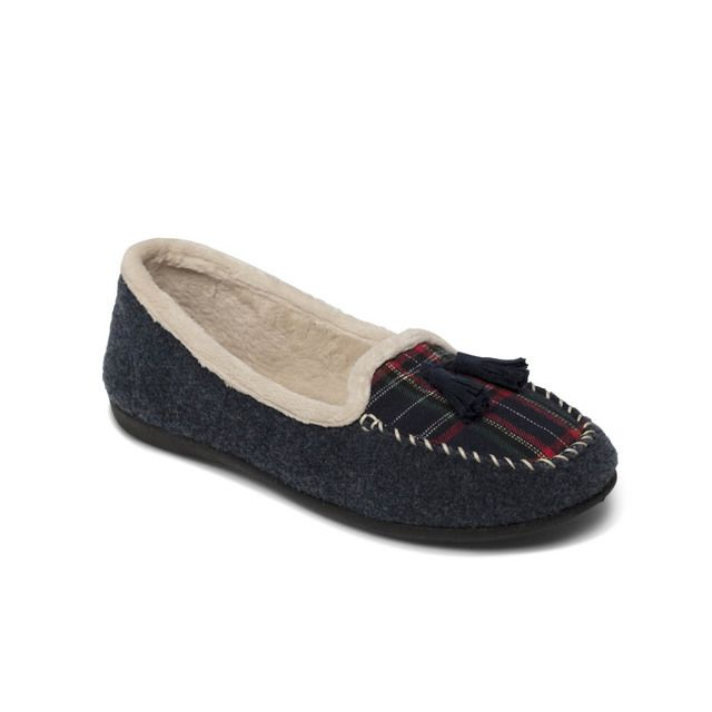 Padders Slippers - Navy multi - 402-96 TASSEL