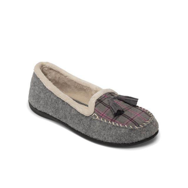 Padders Slippers - Grey muti - 402-97 TASSEL