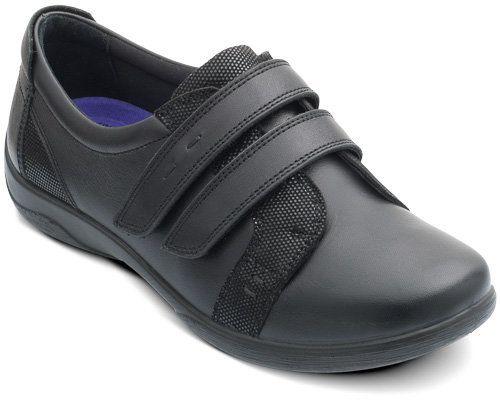 Padders Verse Eee 851-10 Black comfort shoes