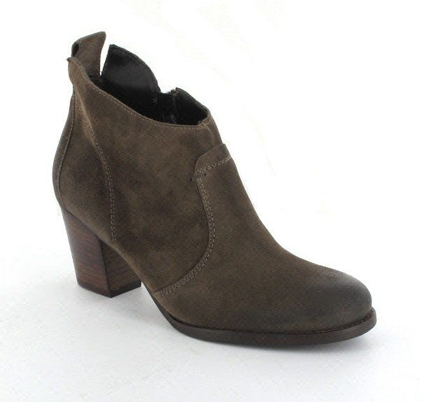 Paul Green Ankle Boots - Brown - 8581/124 SUNDAE