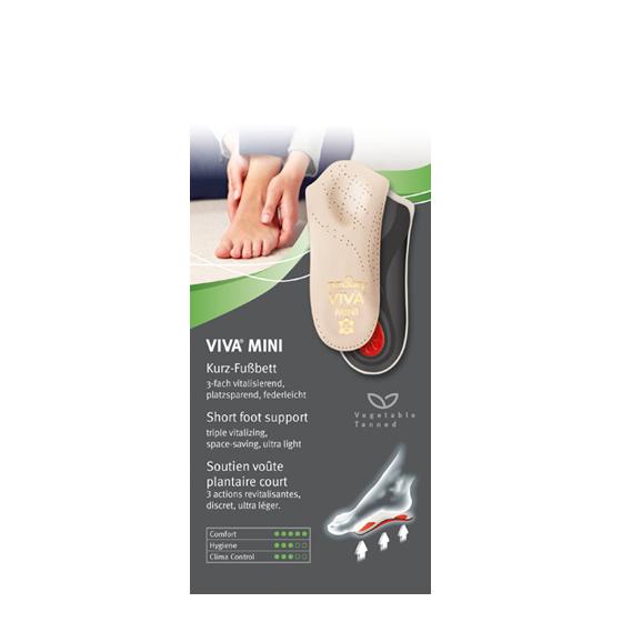 Shoe Care Insoles - Shoecare - Pedag Viva Mini Half Insole