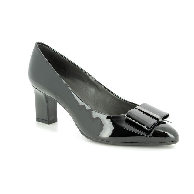 Peter Kaiser Heeled Shoes - Black patent - 53237/010 CARA