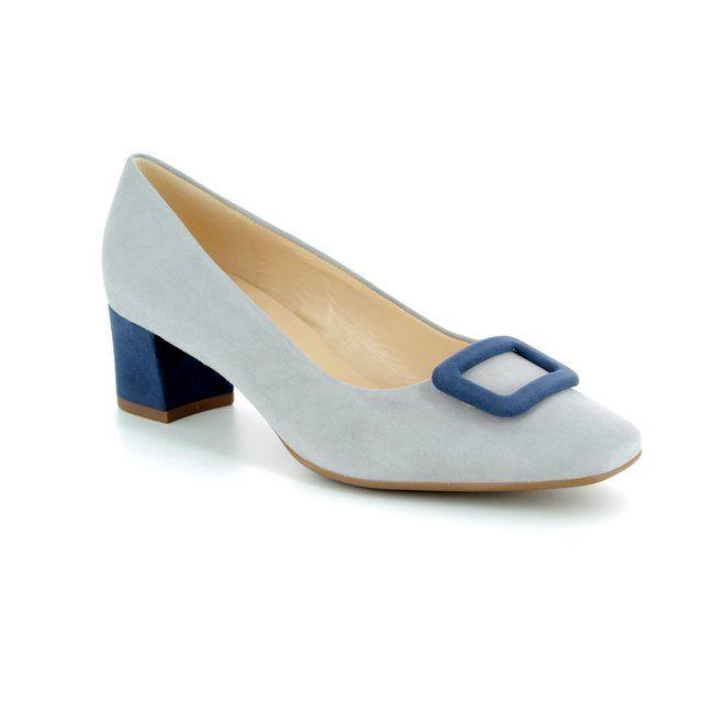 Peter Kaiser Gamiza 51143-774 Grey multi mock snake heeled shoes