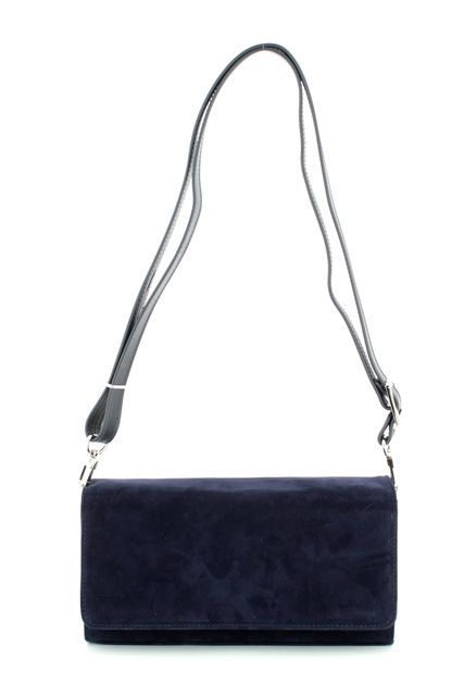 Peter Kaiser Lanelle 11111-104 Navy suede matching handbag