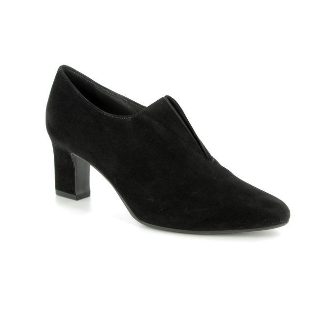 Peter Kaiser Shoe-boots - Black suede - 53235/240 MAIKA