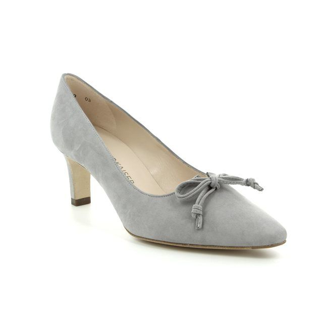 Peter Kaiser Heeled Shoes - Grey suede - 66907/000 MIZZY