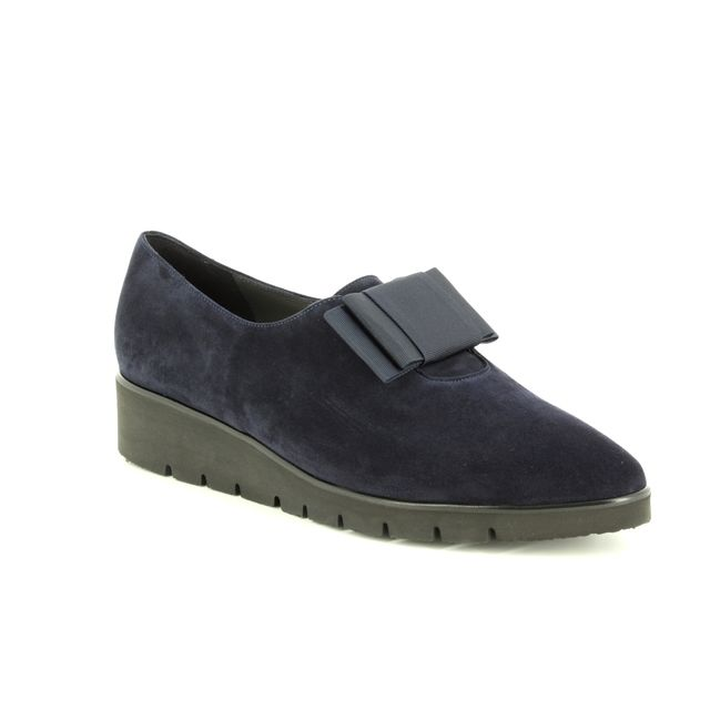 Peter Kaiser Wedge Shoes - Navy suede - 20205/963 NELDA