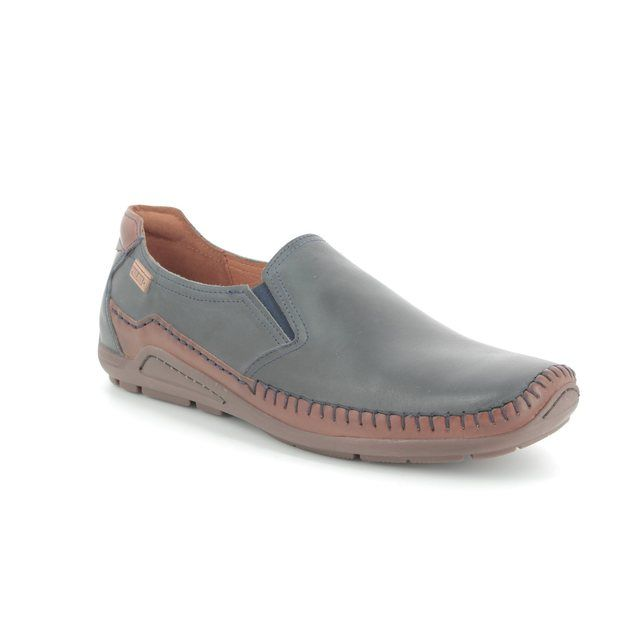 Pikolinos Casual Shoes - Navy-Tan - 06H3128/70 AZORES