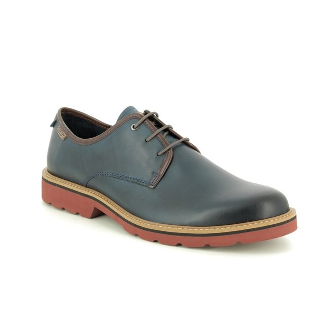 Pikolinos Formal Shoes - BLUE LEATHER - M6E4333/72 BILBAO