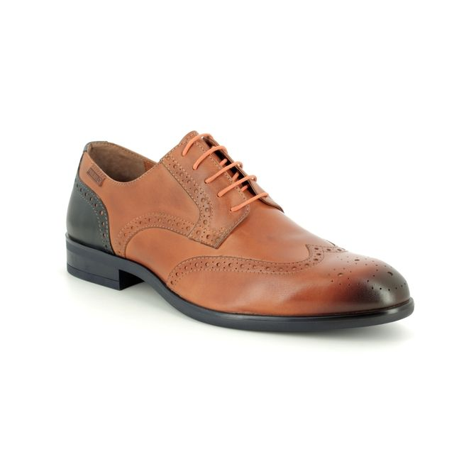 Pikolinos Brogues - Tan Leather  - M7J4186/C2 BRISTOL