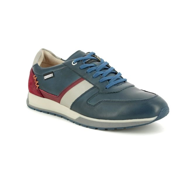 Pikolinos Trainers - Navy leather - M5N6258/72 CAMBIL