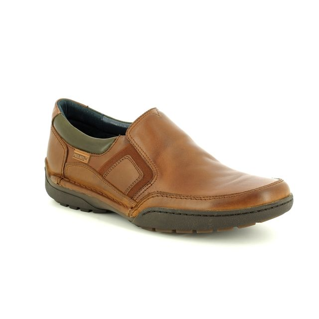 Pikolinos Casual Shoes - Tan Leather - M2J3145/11 ESTOCOLMO