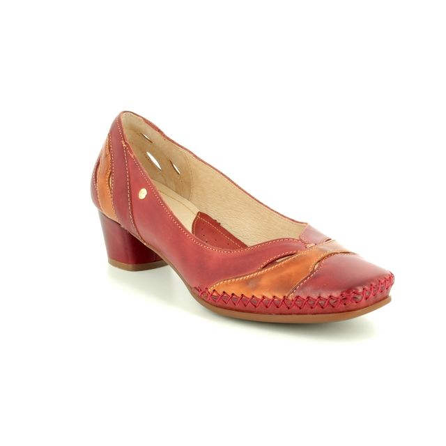 Pikolinos Heeled Shoes - RED TAN - W6R5831/C1 GOMERA