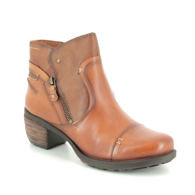 Pikolinos Ankle Boots - Tan Leather - 8388991/11 LE MANS