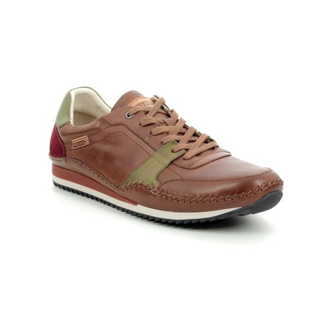 Pikolinos Trainers - Tan Leather  - M2A6246/20 LIVERPOOL 91