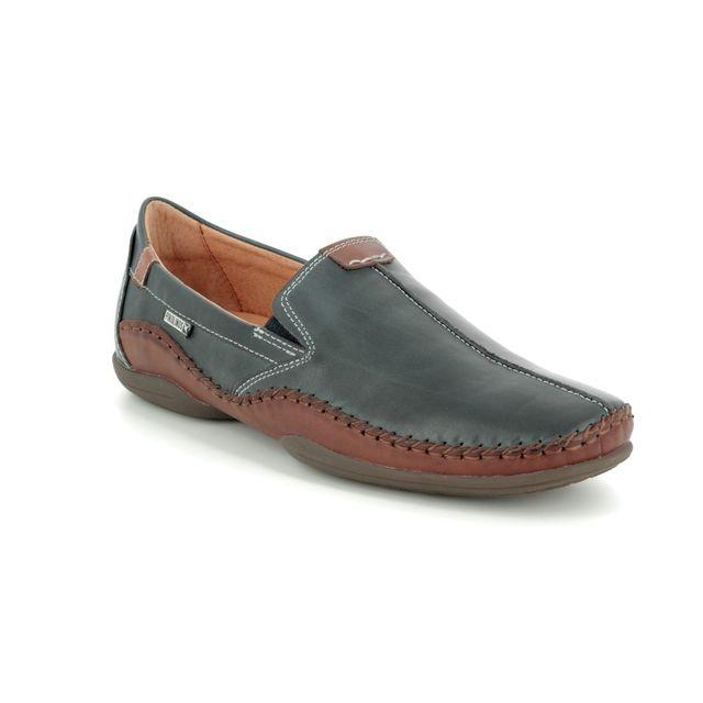 Pikolinos Slip-on Shoes - Navy-Tan - 03A3008/70 PUERTO RICO