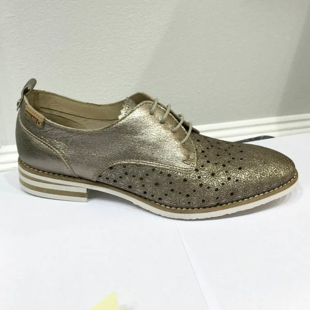 Pikolinos Royal W3S5777-CL Pewter Brogues