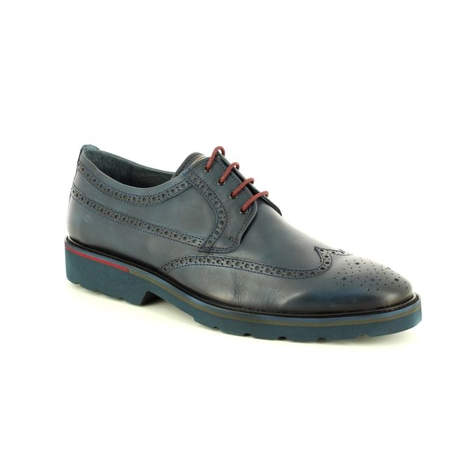 Pikolinos Brogues - BLUE LEATHER - M9M4226/C1 SALOU BROGUE