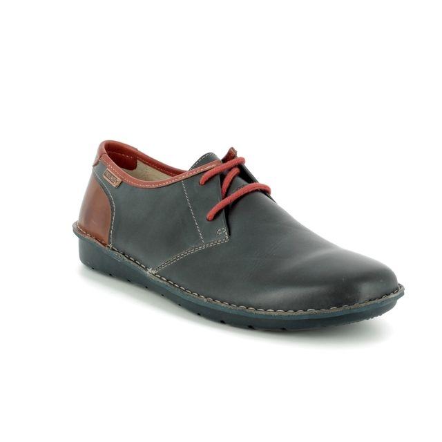 Pikolinos Casual Shoes - Navy-tan - M7B4023/70 SANTIAGO