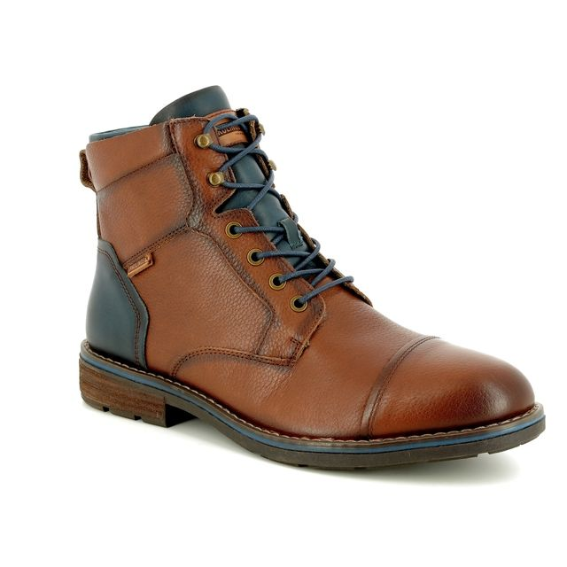 Pikolinos Boots - Tan Leather  - M2M8170/11 YORK